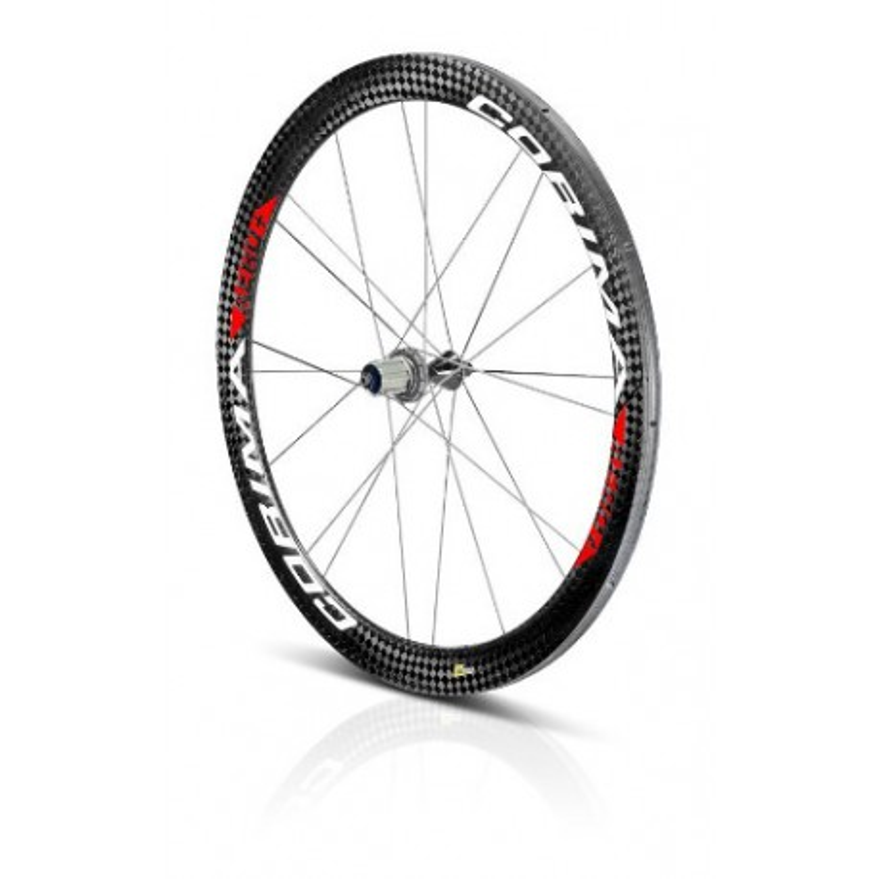 "Rueda Trasera AERO+ 2D carbon wheel 28"" 700C tubular"