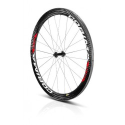 Rueda Delantera AERO 2D carbon wheel tubular para pista