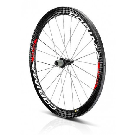 "Rueda Trasera AERO Cyclo-Cross carbon wheel 28"" 700C tubular"