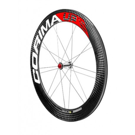 "Rueda Delantera UP ""S"" HPS carbon wheel 28"" 700C clincher 18 spokes"
