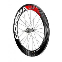 "Rueda Trasera UP ""S"" carbon wheel 28"" 700C tubular 24 spokes para pista"