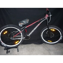 Bicicleta Merida Hardy Steel 2 Disc 24""