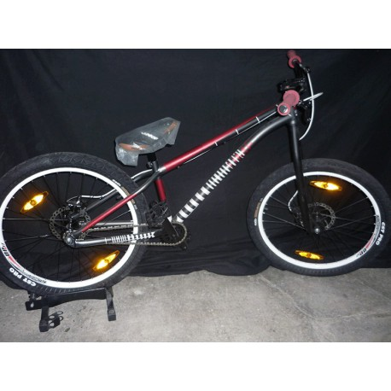 "Bicicleta Merida Hardy Steel 2 Disc 24"""