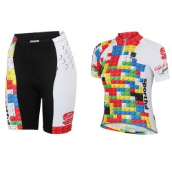 Equipación Infantil Sportful Kid MGF multicolor