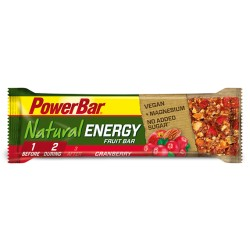POWERBAR NATURAL ENERGY FRUIT BAR
