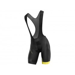 COSMIC ELITE BIB SHORT BLACK/WHT
