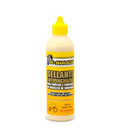 LÍQUIDO SELLANTE ANTI-PINCHAZOS PARA SISTEMA TUBELESS MTB 200ml